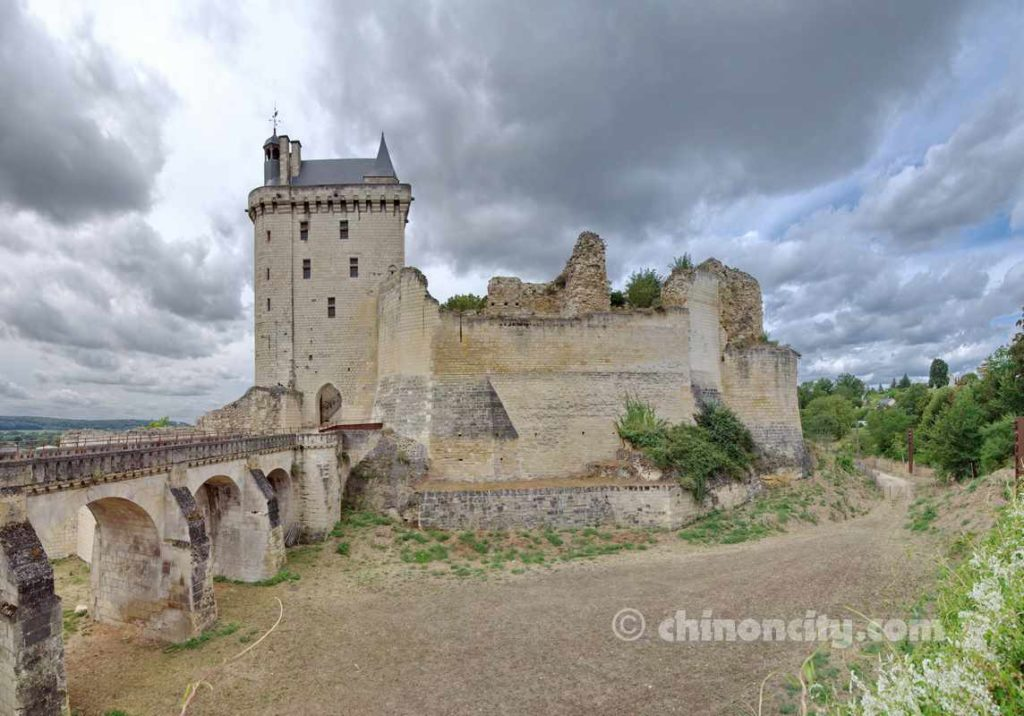 Castle Chinon Château Forteresse